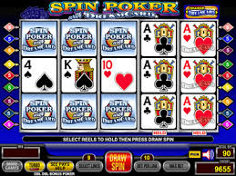 Double Pay Spin Poker
